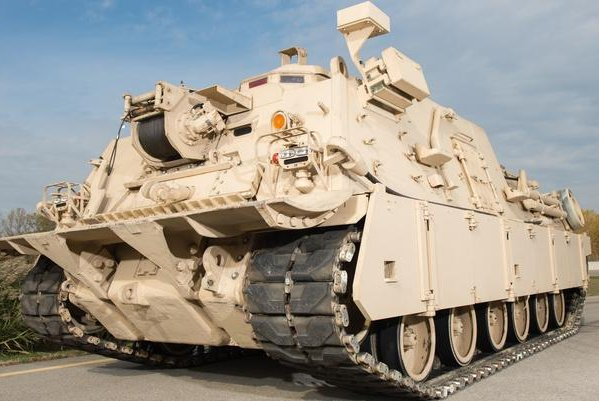 The M88A2 heavy recovery vehicle, capable of recovering tanks. Photo courtesy BAE Systems