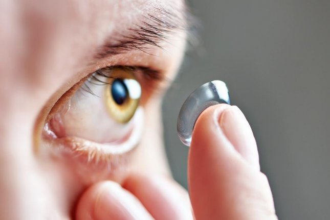 Researchers designed a device that mimicks the tear film to better design contact lenses to make them more comfortable. Photo by Sergey Ryzhov/Shutterstock