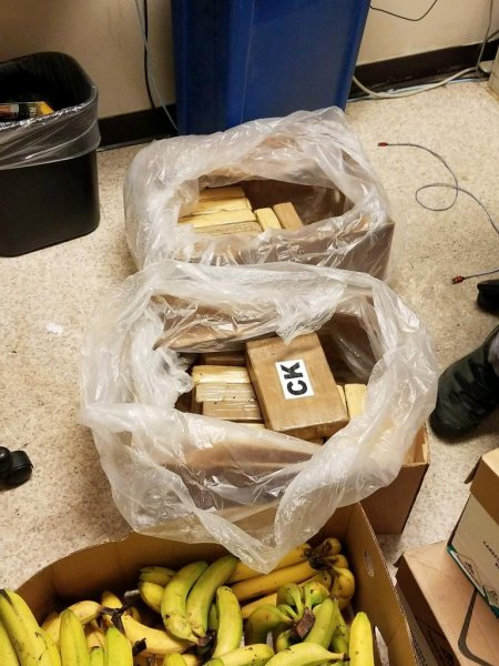 The King County Sheriff's Office said the cocaine had a value of $550,000. Photo courtesy of the King County Sheriff's Office