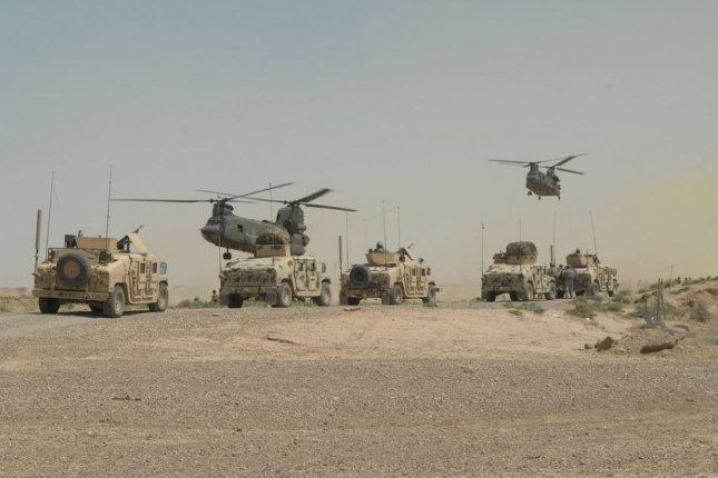 A plan to reduce the U.S. involvement in Iraq's fight against the Islamic State to advisory roles is expected on Monday. Photo by SSgt. Dallas Edwards/U.S. Army