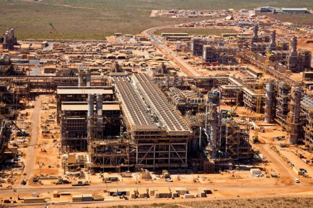 Chevron suffers mechanical setback at its mega-Gorgon liquefied natural gas project in Australia less than a month after the first cargo left for a Japanese customer. Photo courtesy of Chevron.