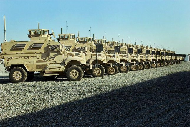 A Second Batch Of Excess Mrap Vehicles From The United States Has Been Delivered To Egypt Pictured Mraps Used By U S Forces In Iraq Government