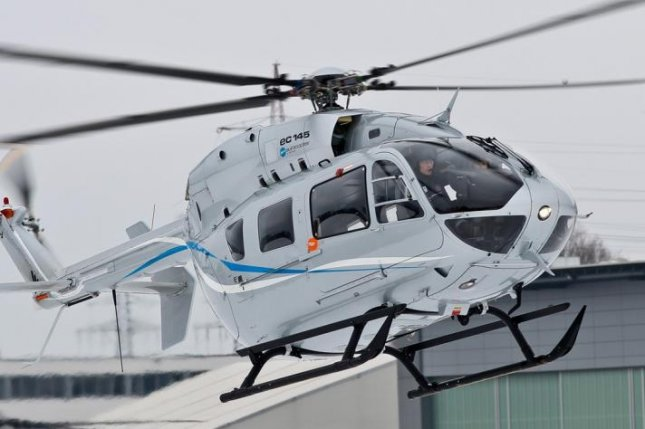 french police tap airbus for additional ec145 helicopter upi com