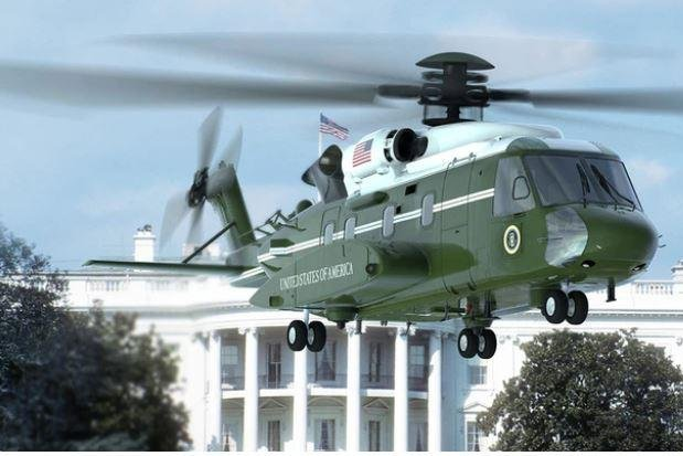 The newest marine One helicopter, seen here in an artist's conception, will be built by Sikorsky as part of a $470 million order announced this week. Photo courtesy of Sikorsky/Lockheed Martin