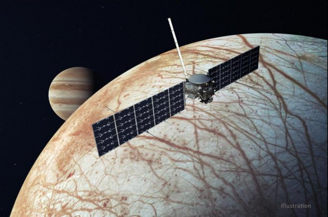 The Europa Clipper mission will study whether Jupiter's fourth-largest moon has conditions suitable for life. Image courtesy of NASA