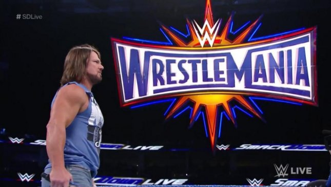 WWE SmackDown: Shane McMahon will face AJ Styles at WrestleMania
