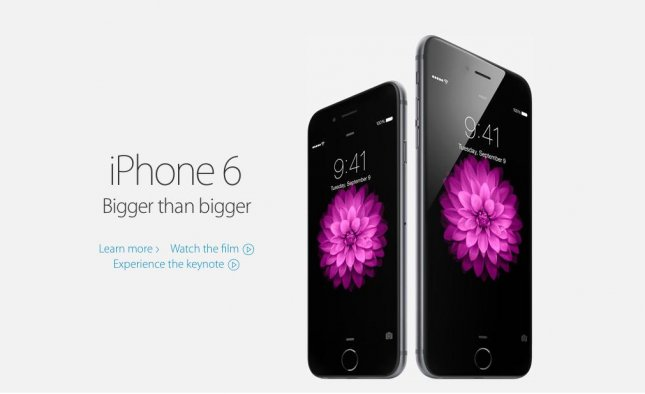 The iPhone 6 and iPhone 6 Plus. (Apple)