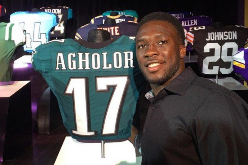 Philadelphia Eagles wide receiver Nelson Agholor. (Instagram)