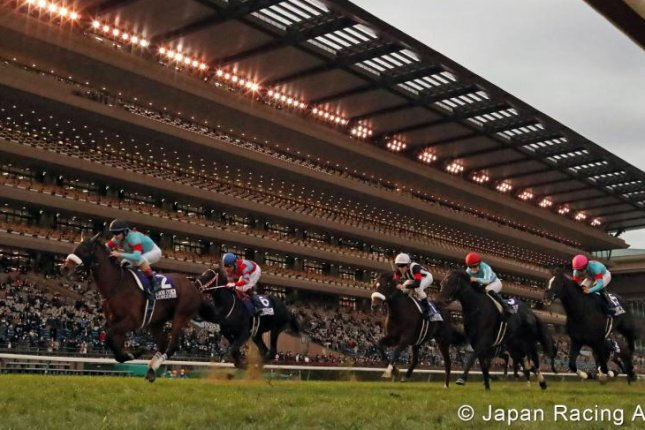 Almond Eye rides into retirement with a victory in Sunday's Grade 1 Japan Cup at Tokyo Racecourse. Photo courtesy of Japan Racing Association