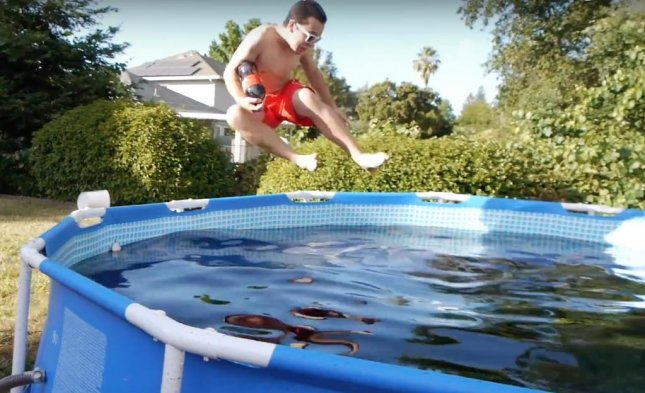 YouTube User TechRax Shared Video Of His Friend Swimming In A 1,500 Liter  Pool Filled With Coca Cola. TechRax Also Dumped A Bucket Full Of Mentos And  ...