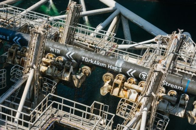 Russian energy company Gazprom completes a section of a gas pipeline running through Turkish waters. Photo courtesy of Gazprom