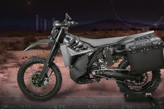 Logos is developing the SilentHawk hybrid military motorcycle for DARPA. Photo courtesy of Logos