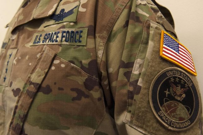 More than 8,500 active-duty members of the Air Force have volunteered for the U.S. Space Force, the branch announced Tuesday. Photo by Robert Barnett/U.S. Air Force
