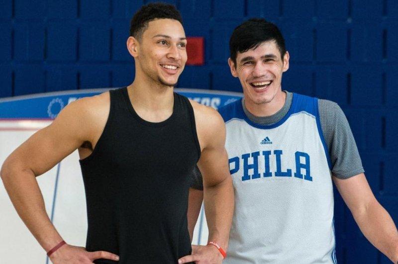 Philadelphia 76ers' Ben Simmons. (Sixers/Instagram)
