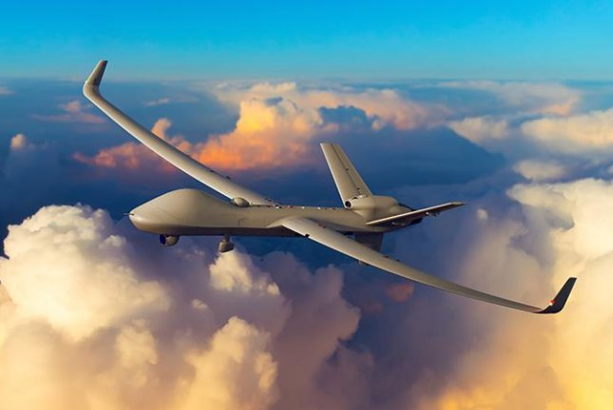 The SkyGuardian variant of the Predator B drone. Photo courtesy GA-ASI