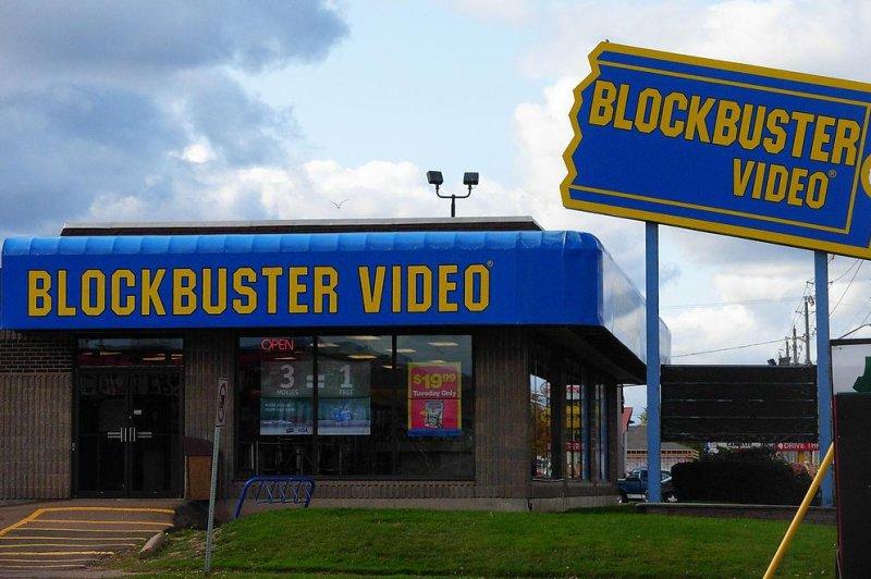 A Blockbuster Video store. (CC/Stu Pendousmat)