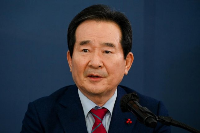 Vaccines are an expensive drug and if North Korea cannot afford them we are willing to help, Prime Minister Chung Sye-kyun said Wednesday. Photo by Thomas Maresca/UPI