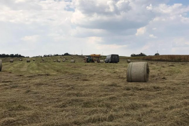 Hay is in short supply across much of the Midwest after a historically wet spring hindered production. Photo courtesy of Karl Gearhart