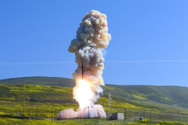 A test of the nation's Ground-based Midcourse Defense system, was conducted from North Vandenberg in March 2019.Boeing was awarded a $128.5 million modification to its Ground-based Midcourse Defense development and sustainment contract Thursday. Photo by Jose Davila/U.S. Air Force