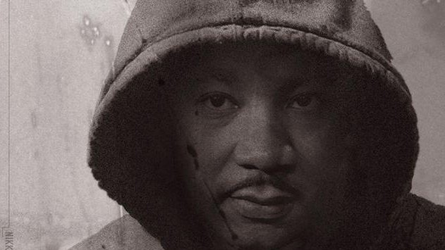 Martin Luther King depicted in a hooded sweatshirt. (Nikkolas Smith)