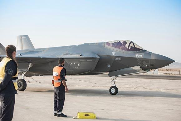 A bill introduced last week in the U.S. House virtually guarantees Israel's qualitative military edge in armaments, specifically the F-35s flown by it's air force. Photo courtesy of Israeli air force