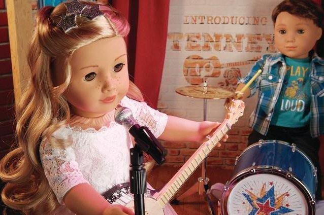 American Girl Doll Announces First Boy -- Logan Everett -3922