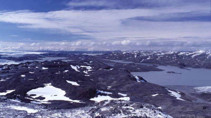 Isua Supracrustal Belt Isua, south-west Greenland. (credit: University of Washington via Phys.org)