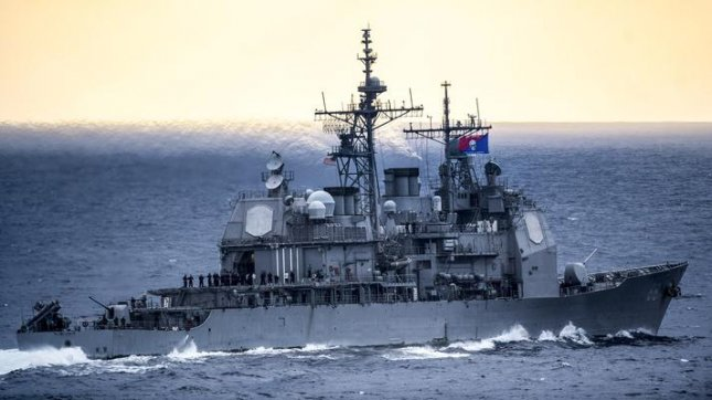 The USS Anzio is set for modernization work, provided by BAE Systems, beginning in February. Photo courtesy of the U.S. Navy