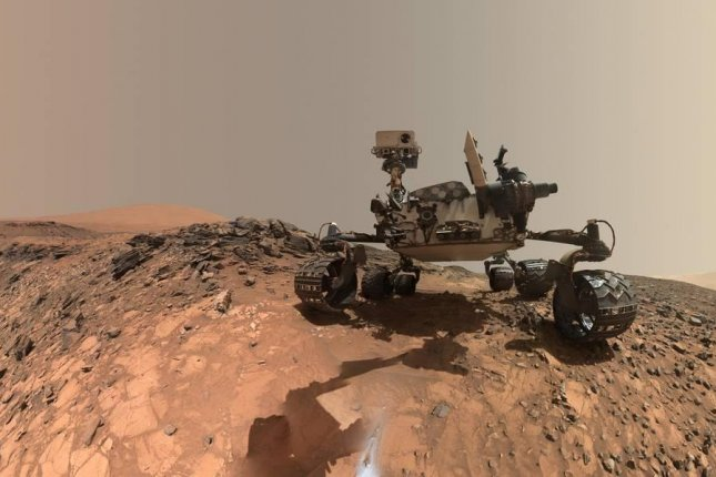Curiosity has been exploring Mount Sharp for several years. Photo by NASA/JPL-Caltech/MSSS
