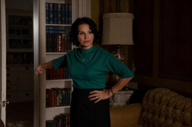 Actress Kathrine Narducci co-stars in the new mob drama, Godfather of Harlem, which starts Sunday. Photo courtesy of Epix