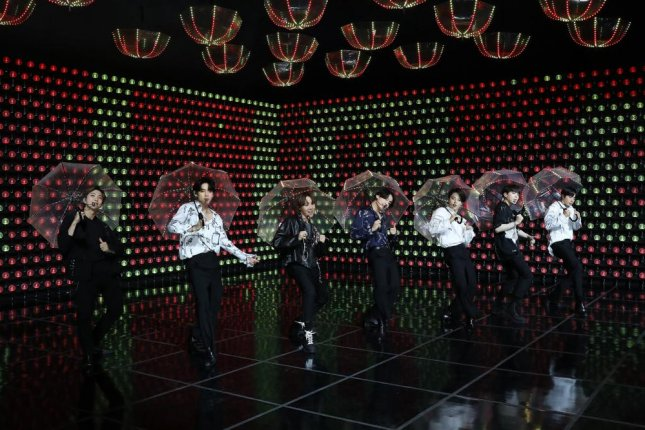 The 100-minute live stream, Bang Bang Con: The Live, was viewed by 756,000 fans from 107 countries, Big Hit Entertainment announced in a statement. Photo courtesy of Big Hit Entertainment