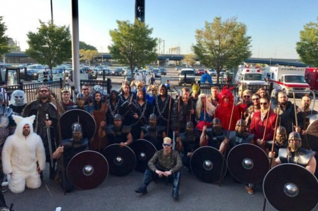 Washington Nationals teammates dress up like Game of Thrones characters on Sunday for their team's road trip to face the Philadelphia Phillies. Photo courtesy of the Washington Nationals/Twitter