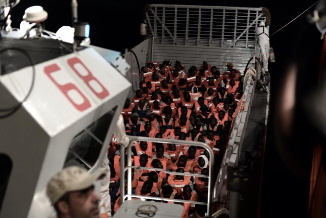 The U.N. Refugee Agency on Monday pleaded for government officials to accept a boat full of migrants stranded in the Mediterranean. Photo courtesy MSF Sea/Twitter