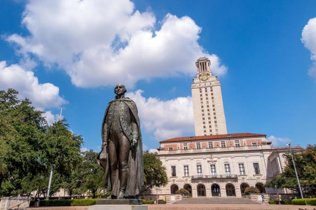 A fake mass shooting demonstration by a gun rights group planned to take place at the University of Texas at Austin on Saturday will be moved off-campus. The University of Texas at Austin said the event violates rules that prohibit outside groups from assembling on campus.. File photo by f11photo/Shutterstock