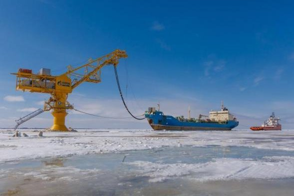 Though market conditions would have to improve, Russia still interested in developing oil from its Arctic regions. Photo courtesy of Gazprom Neft.