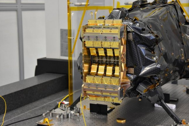 Of the 20 gold-plated sensor-chip electronics produced by NASA engineers, 16 will be integrated into Euclid's NISP instrument. The other four will be used as backups. Photo by Euclid Consortium/CPPM/LAM