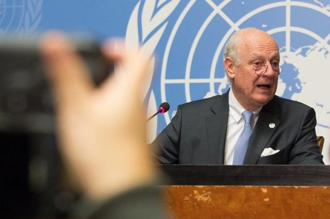 Staffan de Mistura, United Nations Special Envoy for Syria, called on the United States and Russia to help re-start the Syrian peace talks. Photo by Elma Okic/United Nations