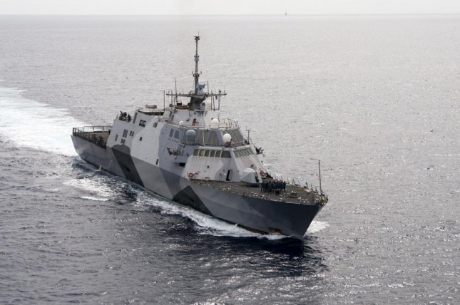 The U.S. Navy announced an overhaul of its troubled Littoral Combat Ship program last week that will included turning the first four ships into test vessels. The first LCS, Freedom, is shown here. U.S. Navy photo