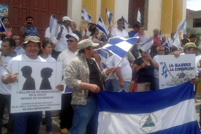 Nicaraguan organizations on Wednesday accused President Daniel Ortega's regime of repressing protesters who are voicing opposition to the proposed Nicaragua Canal and to recent elections, which they say were fraudulent. Photo courtesy of Women's Autonomous Movement