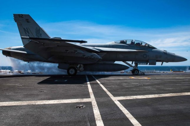 Boeing will no longer offer its F/A-18 Super Hornet for Belgium's effort to replace its aging F-16 fleet. U.S. Navy photo by Mass Communication Specialist Seaman Alex Corona