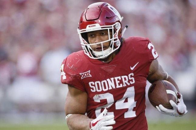 Oklahoma leading rusher Rodney Anderson has avoided criminal charges after being accused of rape earlier in the month of December, the Cleveland County District Attorney announced Thursday. Photo courtesy of Oklahoma Sooners Football/Twitter