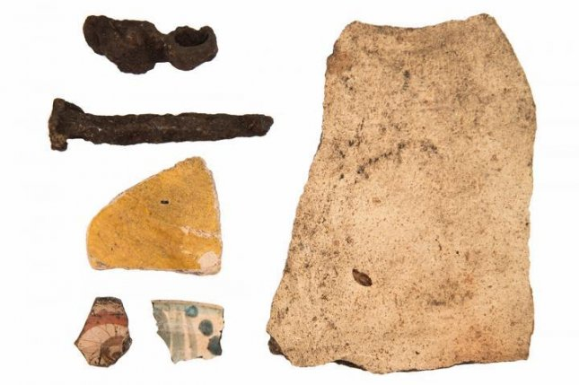 Archaeologists found the ancient walls of a long-missing Spanish fort on Florida's Mound Key. They also found a variety of artifacts. Photo by Amanda Roberts Thompson
