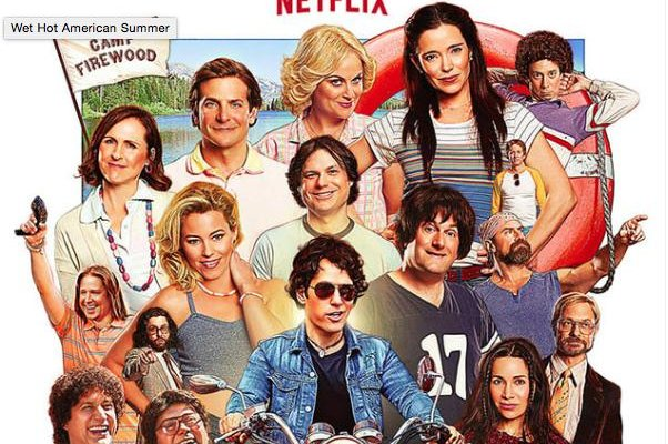 'Wet Hot American Summer' series poster. Photo courtesy of Netflix.