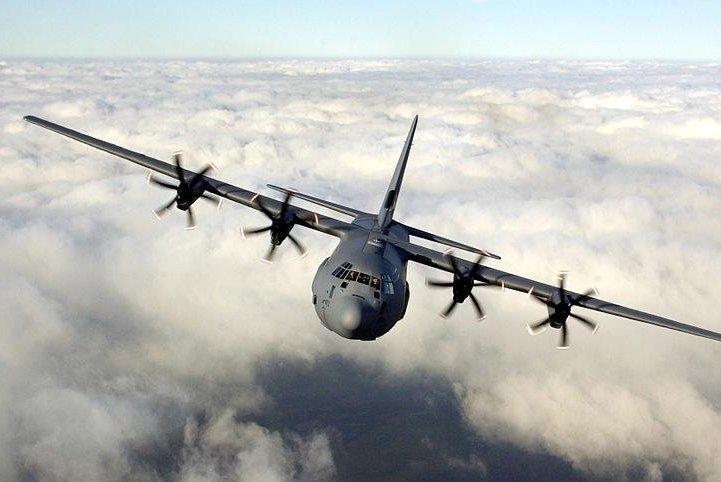A C-130J of Britain's Royal Air Force. Photo: Sgt Jack Pritchard RAF