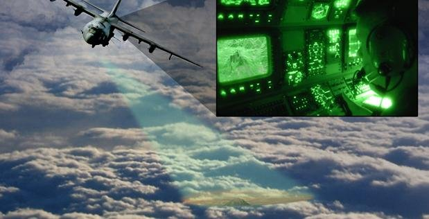 DARPA has developed a radar sensor that can capture real-time video through clouds, and can be fitted for aircraft more easily. Photo courtesy of DARPA