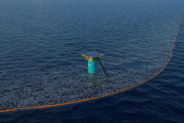Plastic waste-catching dam to be tested in North Sea
