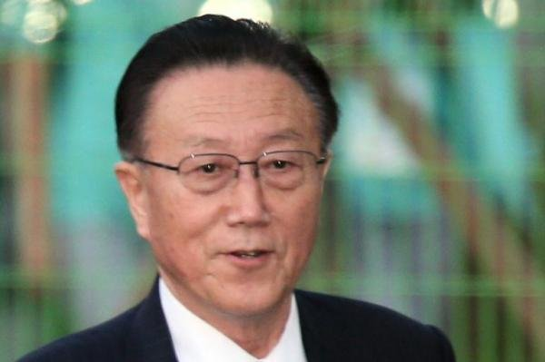 Kim Yang Gon, director of the United Front Department of the Korean Workers' Party, died in a car accident on Tuesday, according to Pyongyang. File Photo by Yonhap