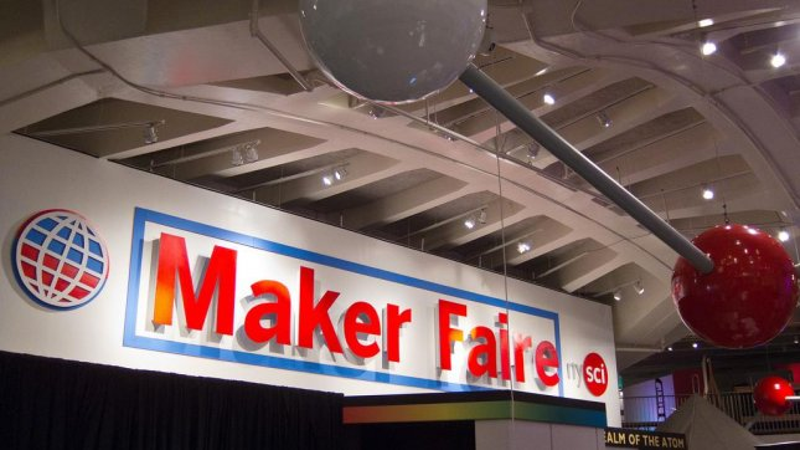 World Maker Faire in New York City, 2011. (CC/Scott Beale/Laughing Squid)
