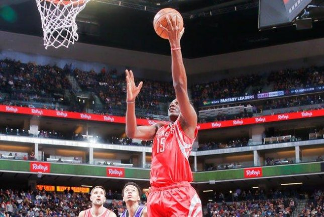 The Houston Rockets outlasted the Sacramento Kings 135-128 on Sunday. James Harden had a triple-double for the Rockets. Photo courtesy Houston Rockets via Twitter