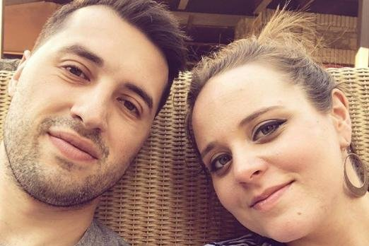 Jinger Duggar posted pictures with Jeremy Vuolo that were taken during her 34th week of pregnancy. Photo by Jinger Duggar/Instagram